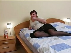 Russian Mature Room Service