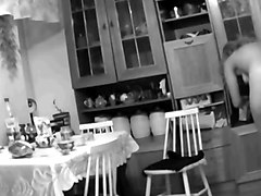 Hidden cam in kitchen