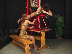 Different Men Are Milked Of Cum On A Contraption As They Are Jacked-off By Hand