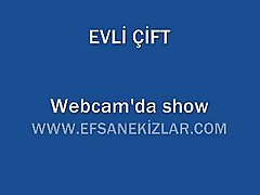 webcam show evli cift turk