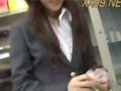 Horny Japanese Office Lady1
