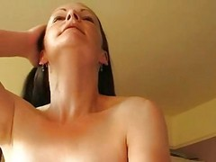 Busty Wife Rides To Sticky Creampie