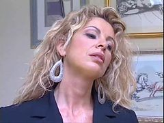 Italian Milf Gets It Hard