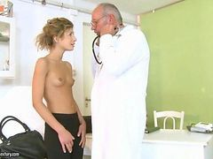 Cute Teen Fucking With Her Old Doctor