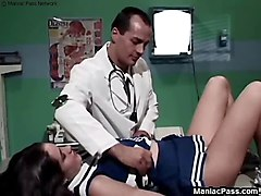 Doctor fucks teen cheerleader