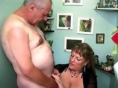 Worn Out Mature Prostitute With Huge Tits Services Two Guys At Once