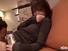 horny japanese woman wants to climax on her first date