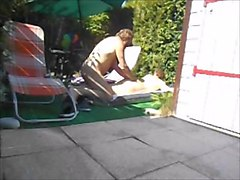 funny fuck in the garden