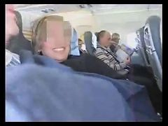 Spanish Couple Crazy Handjob In A Plane (amazing)