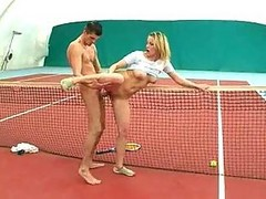 Tennis Chick Fucks Her Teacher (nike Aqua Sock Iv)