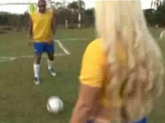 Brazilian Football Girl 1