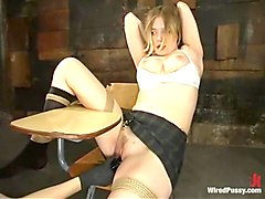 Selina Minx and Star in Wiredpussy Video