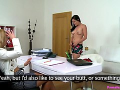 Dolly Tracy in Sexy Minx Tastes Her First Pussy - FemaleAgent