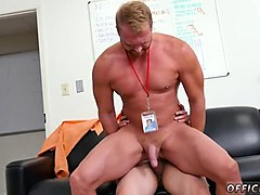 gay sexy straight men having gay sex and broke boys jack suck for money first day at work