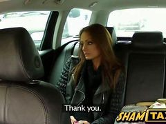 Czech Girl Gets Fucked Inside A Taxi By The Driver Himself!