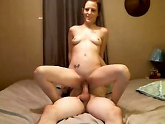 Steamy hot sex with horny couple on cam