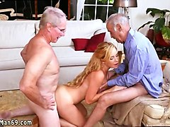 old mixed wrestling frannkie and the gang tag team a door to door saleswoman