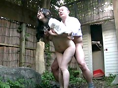 Japanese Mature outdoor