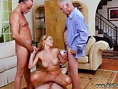 old people sex xxx frannkie and the gang tag team a door to door saleswoman