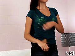 charming teen cutie is simply great at this casting show