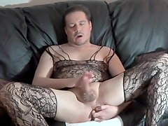 Bodystocking Cum In Mouth