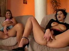 Nadine and Jennifer Stone DP Foursome