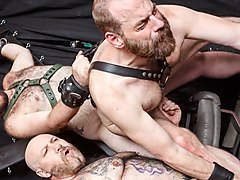 Daddy Cub, Steve Sommers and Daddy Lucas - 2 - BarebackThatHole