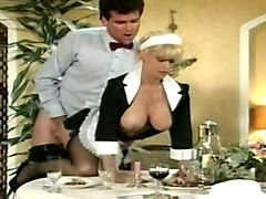 this vintage german maid loves spoon and she's got tits for ages