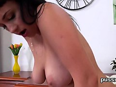 lovable czech sweeties open up their butts with butt plug an