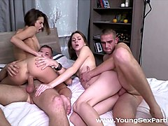 Young Sex Parties - Alice Marshall - Dila - Sex party with ass cumshots