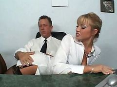 Maya is a Secretary born for sex VOD (TheNylonChannel)