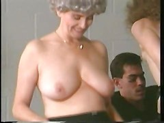 Grannie Is A Lockerroom Whore