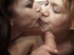 Lesbians Mature And Young Kiss Hardcore