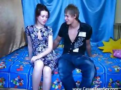 Hot Teen Seduced By Amateur