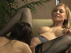 MILF & Young Lesbians - Steamystick